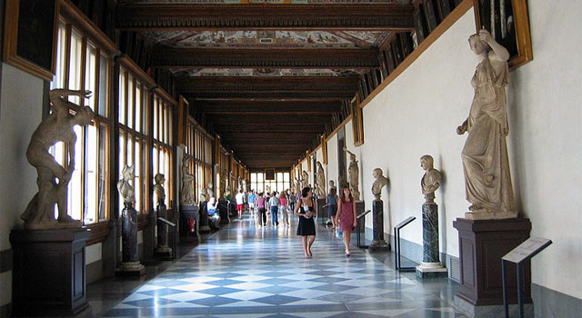 The Uffizi Gallery