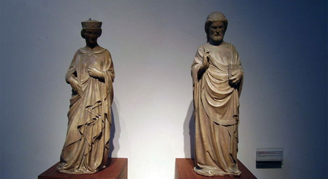 The cathedral museum of Florence: museo dell' Opera.