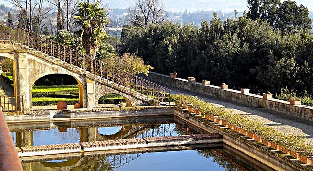 Les villas et les jardins de la campagne florentine