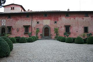 La Villa di Vignamaggio nella regione del Chianti Classico