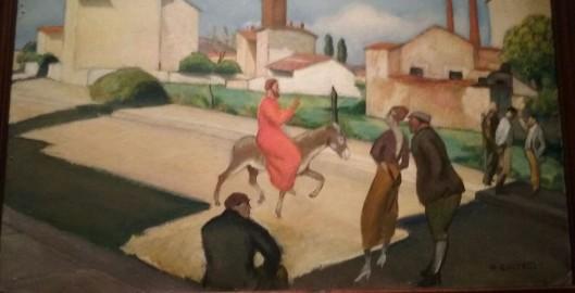 Giovanni Costetti, L'entrata di Cristo in Gerusalemme, 1923-26