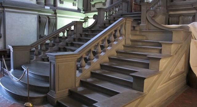 Biblioteca laurenziana, scalinata