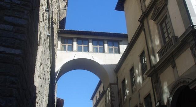 Il Corridoio vasariano parte 1: la storia.