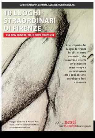"""copertina di """"10 luoghi straordinari di Firenze"""""""